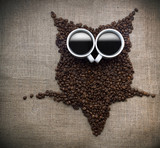 Coffee core owl