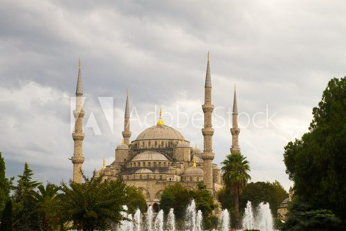 The Sultan Ahmed Mosque Blue Mosque Sept 23, 14 in Istanbul
