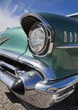 Old Chevy headlight detail