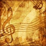 vintage music background