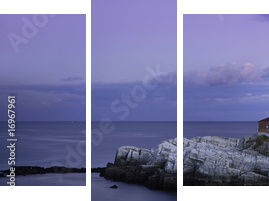 Portland Head Light - Dreiteiliges Bild, Triptychon