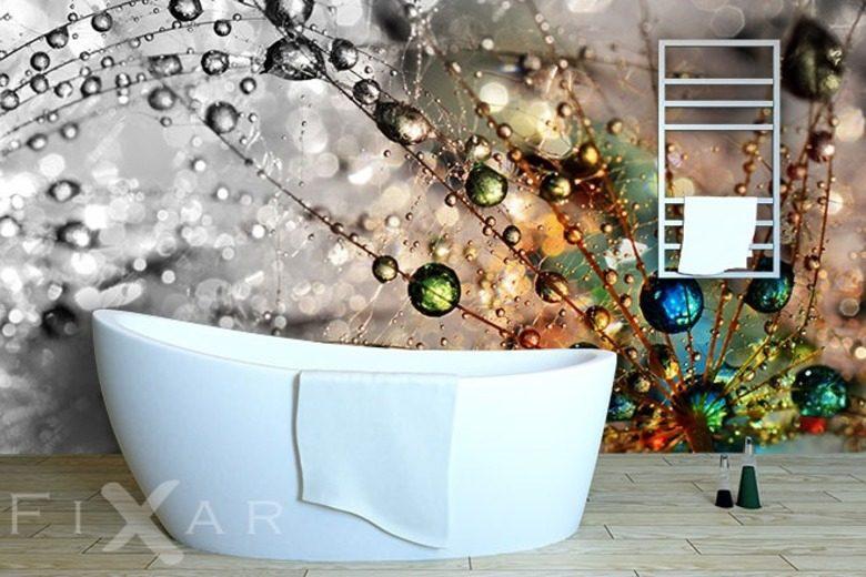 Römisches Badezimmer | Tapete In Einem Badezimmer Warum Nicht Fixar Blog