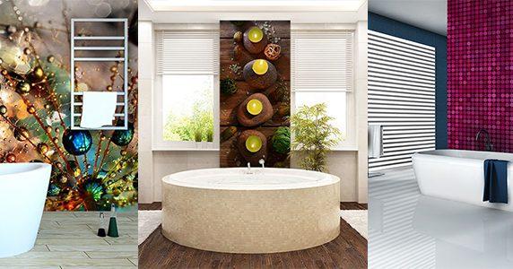 badezimmer tapeten prachtvolle fototapeten f r. Black Bedroom Furniture Sets. Home Design Ideas