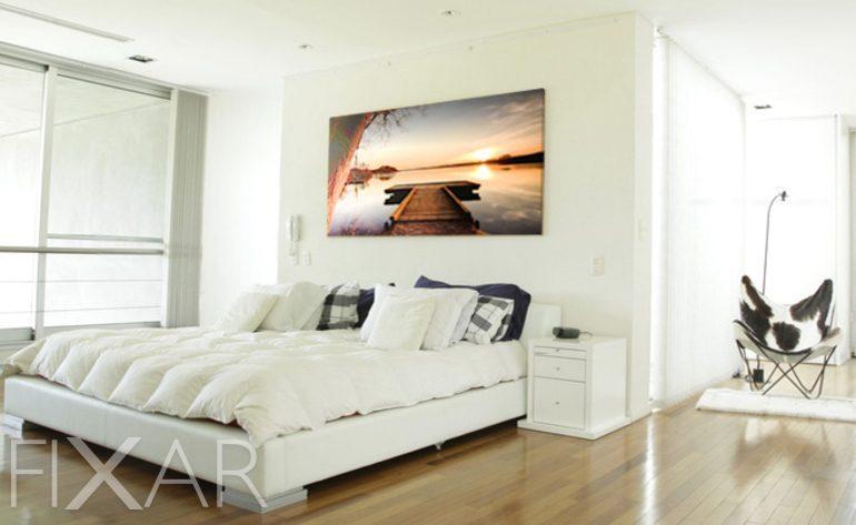 der traum auf dem seespiegel wandposter und wandbilder. Black Bedroom Furniture Sets. Home Design Ideas