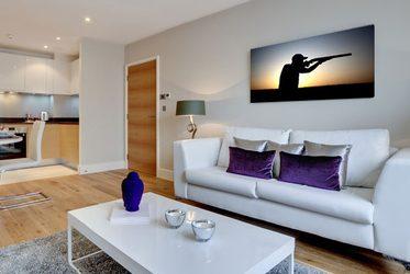 autosalon - poster und wandbilder für wohnzimmer - bilder und, Wohnzimmer