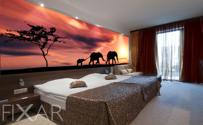 Afrika Schlafzimmer | Willkommen In Afrika Fototapete Fur Schlafzimmer Schlafzimmer