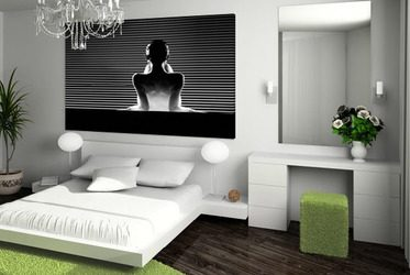 schlafzimmer wandbilder auf leinwand und wandposter. Black Bedroom Furniture Sets. Home Design Ideas