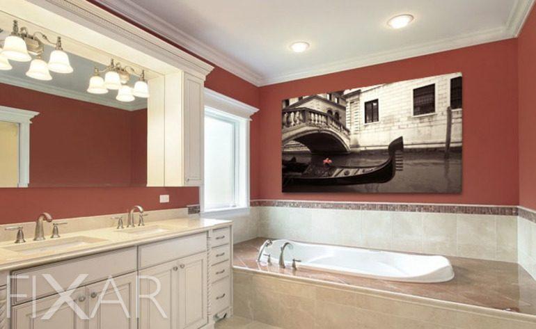 Venezianischer Spiegel - Poster und Wandbilder fürs badezimmer ...