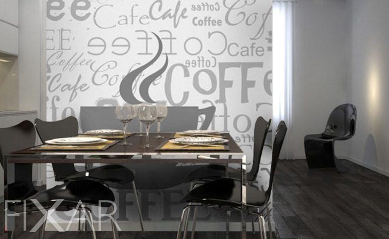 Ein Restaurant zu Hause - Fototapeten für Küche ...