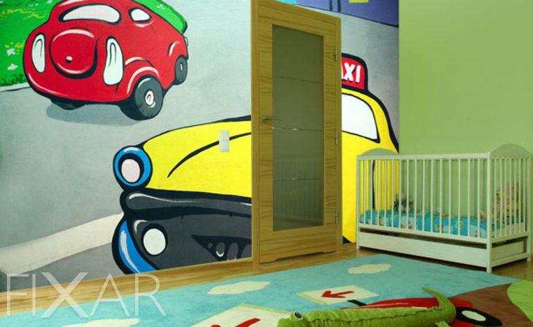 ihr taxi kinder fototapeten fototapete f r. Black Bedroom Furniture Sets. Home Design Ideas
