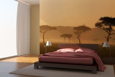 romatischer sonnenuntergang fototapete f r schlafzimmer schlafzimmer tapeten fototapeten. Black Bedroom Furniture Sets. Home Design Ideas