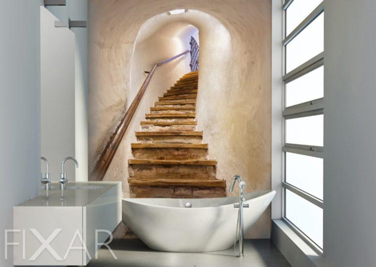 Eichenweg - Fototapeten für Badezimmer - Fototapeten - FIXAR.de