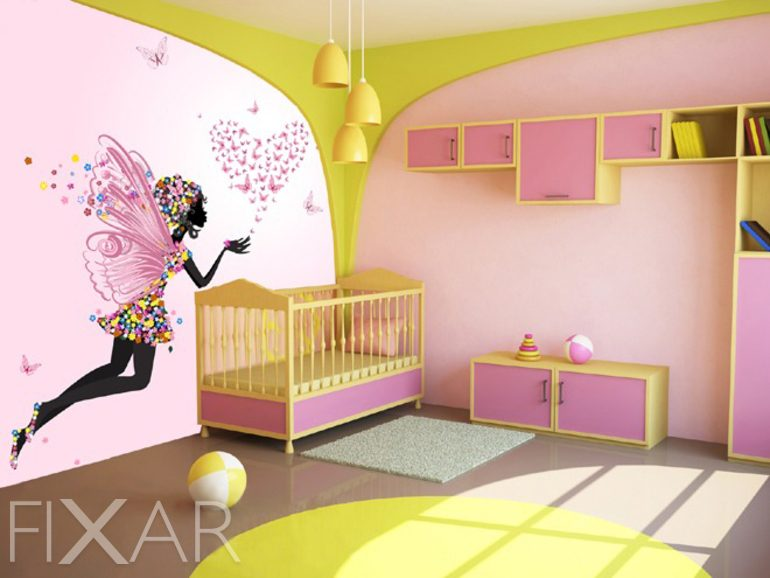 sternennebel kinder fototapeten fototapete f r. Black Bedroom Furniture Sets. Home Design Ideas