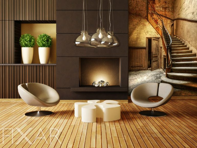 fototapete wohnzimmer 3d. Black Bedroom Furniture Sets. Home Design Ideas