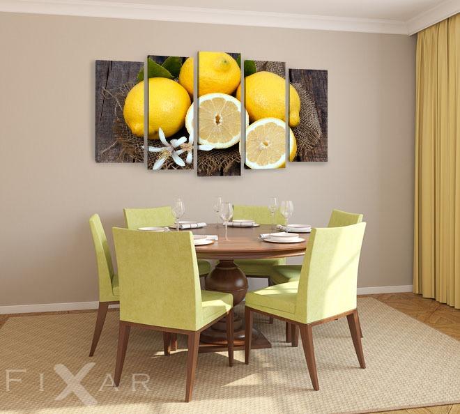 mittagessen aus f nf speisen poster und wandbilder f rs esszimmer bilder und poster. Black Bedroom Furniture Sets. Home Design Ideas