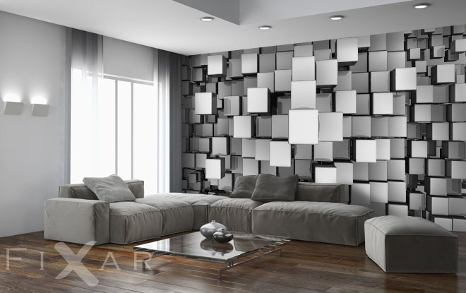 3d mosaik fototapeten 3d fototapeten. Black Bedroom Furniture Sets. Home Design Ideas