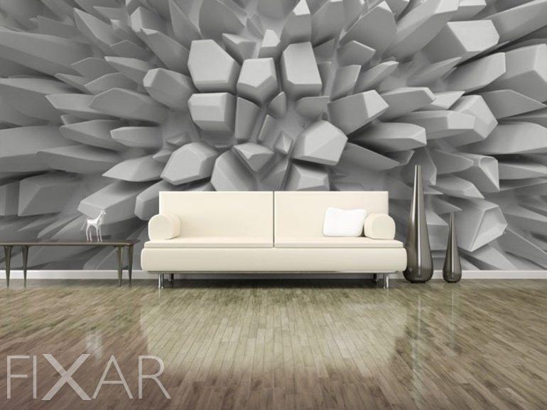Fototapeten 3D: räumlich, dreidimensional, Vergrößerungs | Fixar.de