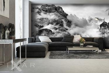 fototapeten schwarz und wei. Black Bedroom Furniture Sets. Home Design Ideas