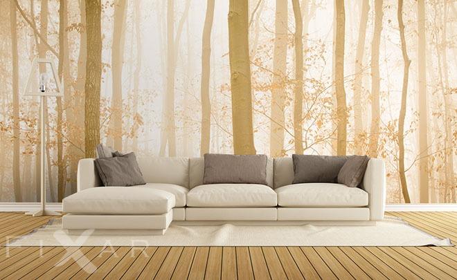 unter die b umen fototapeten wald fototapeten. Black Bedroom Furniture Sets. Home Design Ideas