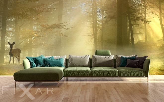 Fototapete Wald Schlafzimmer ~ Alles über Wohndesign und Möbelideen