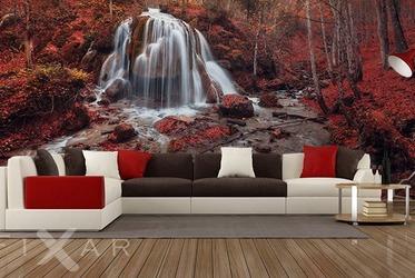 AuBergewohnlich Der Herbstwasserfall