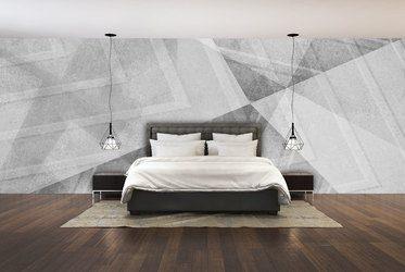 grau auf grau licht und schattenspiel - Tapeten Furs Schlafzimmer