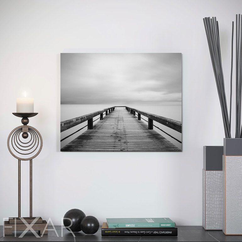 weilen der einsamkeit magie der graut ne poster und wandbilder f r wohnzimmer bilder und. Black Bedroom Furniture Sets. Home Design Ideas