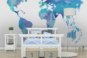 fototapete mit weltkarte. Black Bedroom Furniture Sets. Home Design Ideas