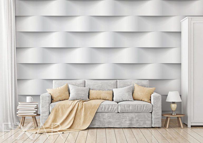 76485e666986 Wellen der weißen Materie - Fototapeten 3d - Fototapeten - FIXAR.de