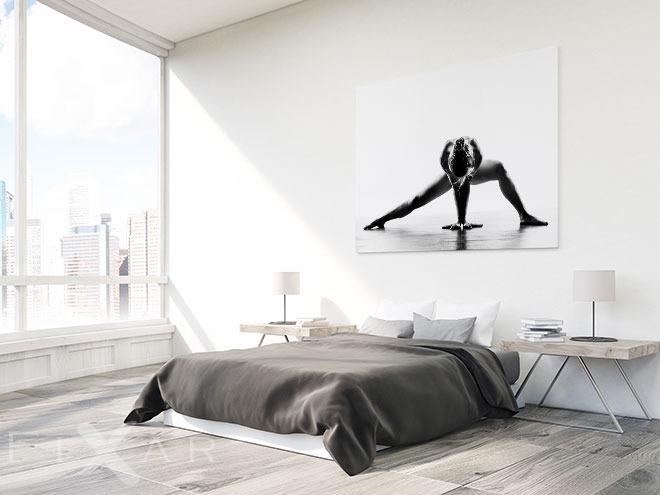 im menschen gibt es kraft gibt es macht wandposter und wandbilder f r schlafzimmer bilder. Black Bedroom Furniture Sets. Home Design Ideas