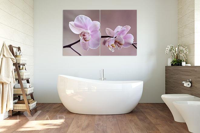 man tr gt sie mit magischer leichtigkeit poster und wandbilder f rs badezimmer bilder und. Black Bedroom Furniture Sets. Home Design Ideas