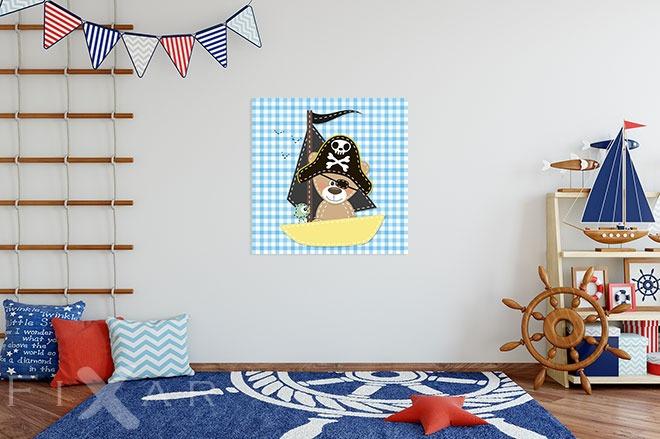 ahoi es ist die zeit f r schifffahrt poster und bilder f r kinderzimmer bilder und poster. Black Bedroom Furniture Sets. Home Design Ideas