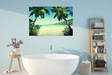 bilder und plakate fürs badezimmer, badezimmerdekorationen - fixar.de