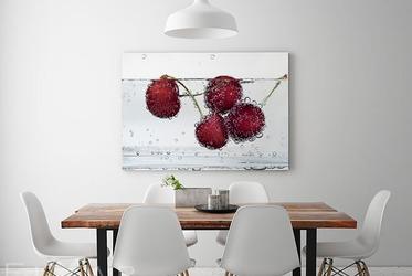Wandbilder Esszimmer schluck des erfrischens schluck der natur poster und wandbilder