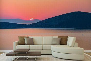 Fototapeten Sonnenuntergang: auf dem Meer, am See, in den Bergen ...