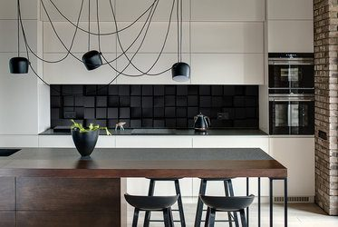 Fototapeten für die Küche: Laminierte, unter Schränke ...