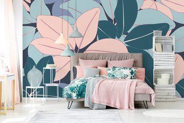 Erholung in einer Pusteblume - Fototapete für Schlafzimmer ...