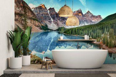 Fototapeten für Badezimmer: laminierte | Fixar.de