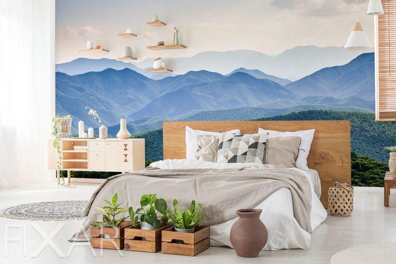 Je höher, desto schöner - Fototapete für Schlafzimmer ...