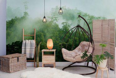 Fototapeten fürs Wohnzimmer: Inneneinrichtung, inspirationen ...
