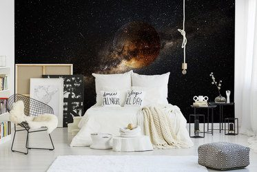 Fototapeten fürs Schlafzimmer: Inneneinrichtung ...